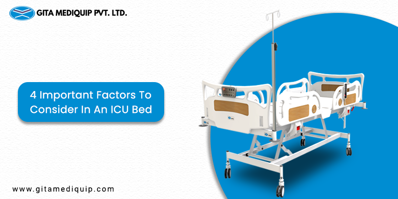 Important factors to consider in an ICU bed